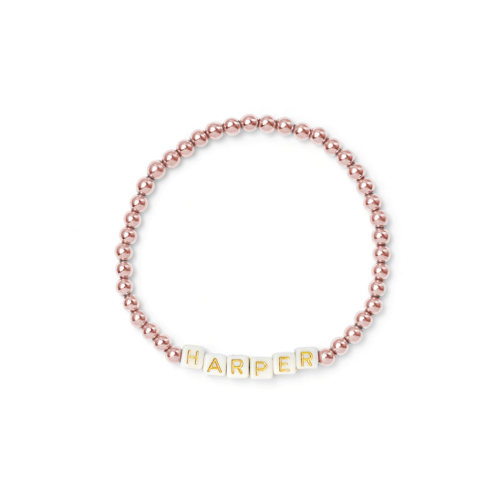 Custom Rose Gold Bracelet