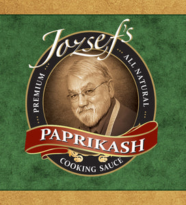 Jozsef's Paprikash Cooking Sauce (6 Jar Pack)