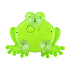 Load image into Gallery viewer, Frogs Bubble Bath Toy  Music Nursery Rhyme Bubble Blower Machine for Toddler  Let Baby Love Bathing