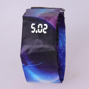 Creative Paper Watch LED Waterproof