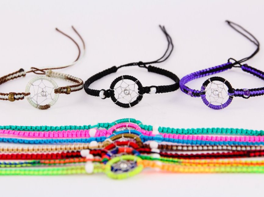 3 Dreamcatcher Friendship Bracelets