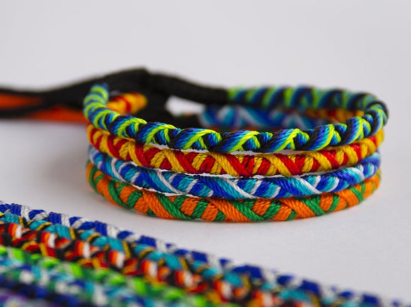 3 Friendship bracelets, Rasta friendship bracelet, Plated bracelet, Summer bracelet, Festival Bracelet, Colorful bracelets, Wristband, Surf