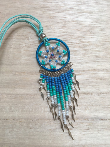 Dreamcatcher Necklace, Dreamcatcher necklace, Indian Dreamcatcher, Girl necklace, Teeneger gift, Girl gift