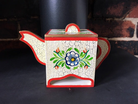 Tea caddy, tea holder, teabag holder, tea bag dispenser, decorative tea caddy,