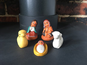Nativity Scene, Nativity Set, Ceramic nativity set 5 pieces