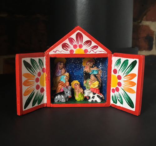 Nativity Scene, Nativity Set, Retablos