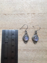 Load image into Gallery viewer, Boho Moonstone silver earrings
