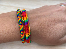 Load image into Gallery viewer, Pride Friendship bracelet