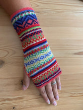 Load image into Gallery viewer, Fingerless gloves, Alpaca wool gloves, Winter gloves, Gloves for her