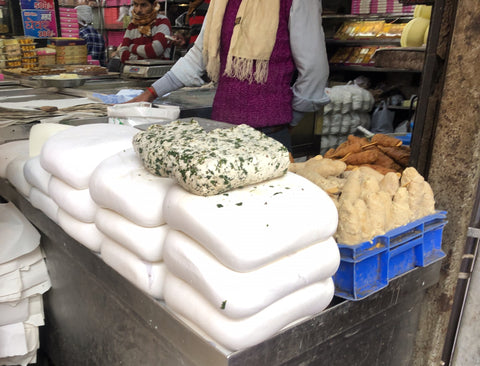 Fresh Paneer at Delhi Spice Market