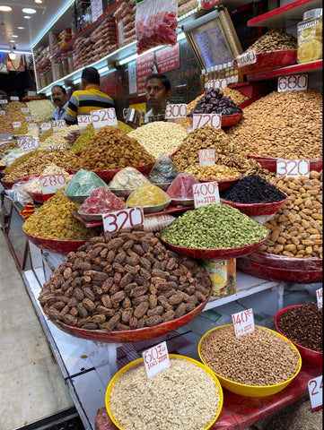 Fruit and nuts in Delhi Spice Market