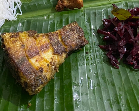 Thekkady fried fish