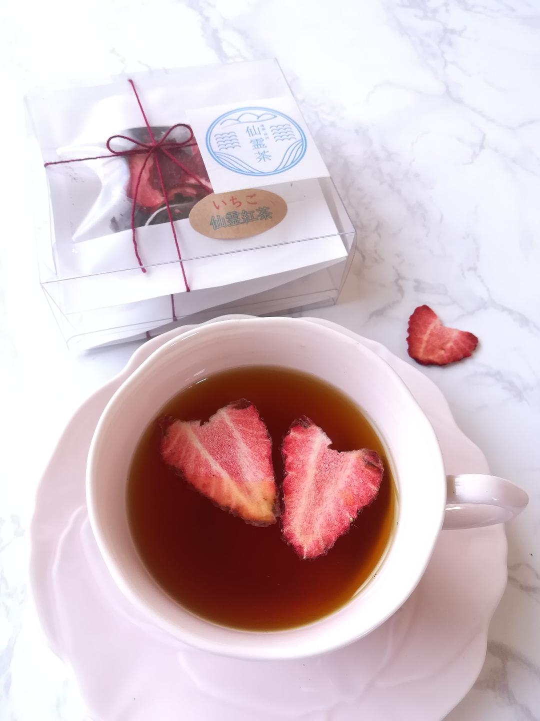 [Seasonal items]</p>Senrei Strawberry Tea</P>4g x 3</P>Can be ribboned