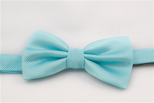 Light Blue Patterned (Bow Tie)