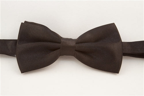Solid Black (Bow Tie)