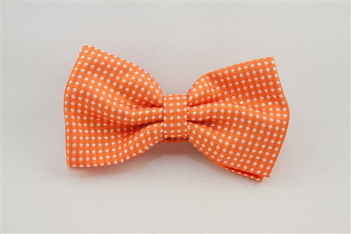 Orange with White Dots (Bow Tie)