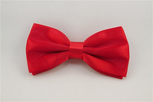 Bright, Solid Red (Bow Tie)