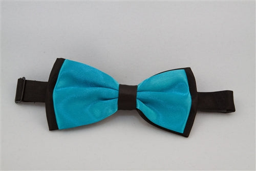 Solid, Bright Blue with Black Back (Bow Tie)