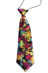 Multi Color Paint Splattered (Children's Tie)
