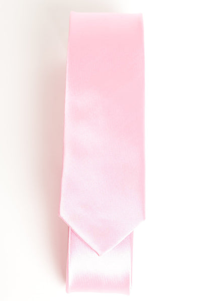 Solid Light Pink (Skinny Tie)