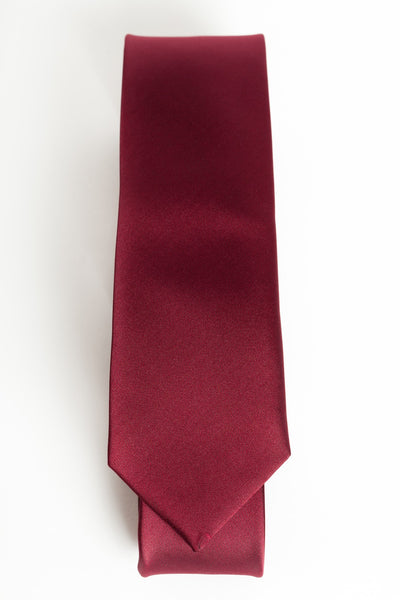 Solid Red (Skinny Tie)