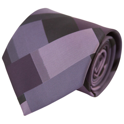 Multi-Purple Patchwork (Traditional Tie)