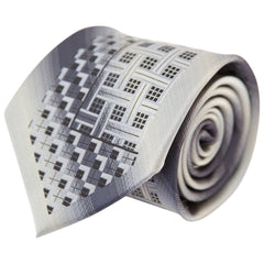 Black & Gray Elmer (Traditional Tie)