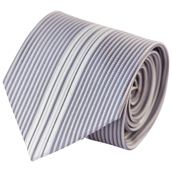 Light Periwinkle Verticals (Traditional Tie)