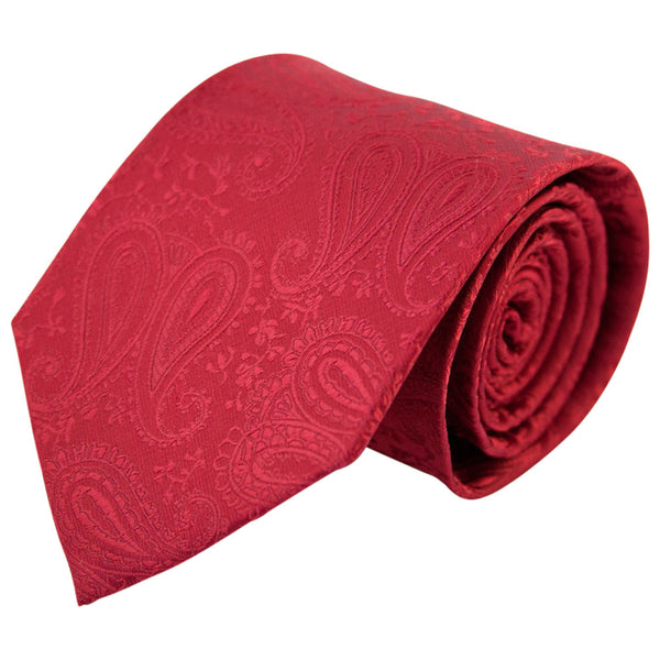 Red Paisley (Traditional Tie)