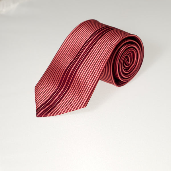 Red Vertical Stripes (Traditional Tie)