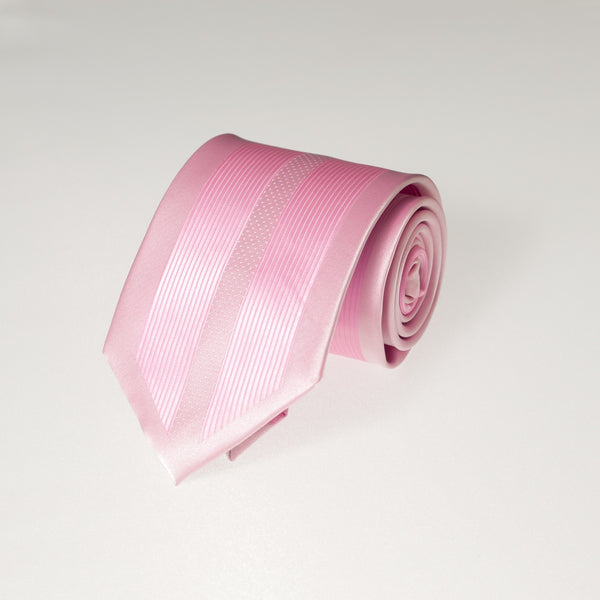 Double Pink Vertical (Traditional Tie)