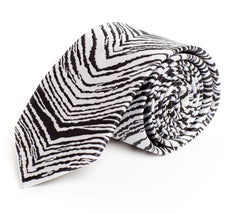 Black & White Zubaz Tie (The Original)