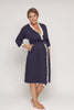 Radiance Dressing Gown - Navy