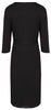 Mirage Wrap Dress / Labour Wrap - Black
