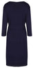 Mirage Wrap Dress / Labour Wrap - Navy