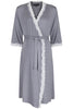 Radiance Dressing Gown - Dove Grey