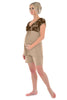 MamaMoosh Indulgence Maternity Nursing Pyjama top Mink