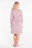 MamaMoosh Mirage Labour Wrap Dress Dusky Pink back