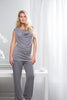Mirage maternity nursing pyjamas grey