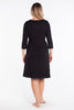MamaMoosh Mirage Labour Wrap Dress Black back