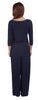 Radiance 3/4 Sleeve Pyjamas - Navy