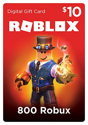 Roblox Gift Card 800 Robux Online Game Code