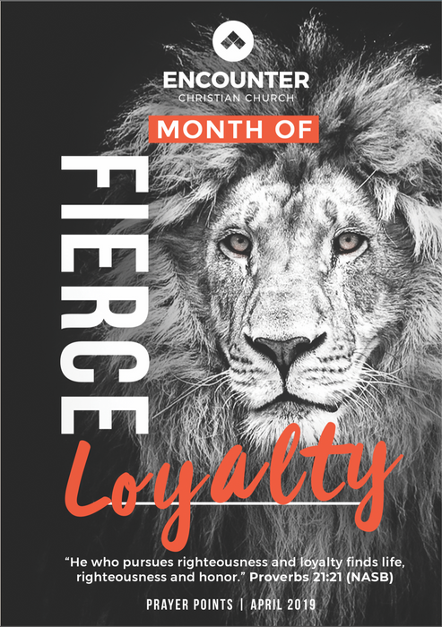 Fierce Loyalty - Prayer Declarations