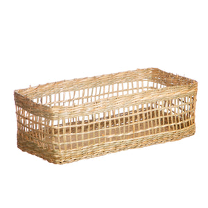 Sass & Belle Seagrass Rectangular Basket