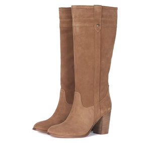 Barbour Elena Boots - Taupe Suede