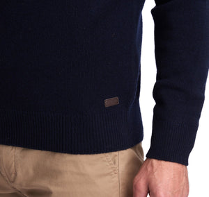 Barbour Nelson Essential Crew Neck Sweater - Navy