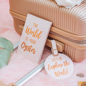 World Explorer Luggage Tag