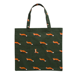 Sophie Allport Folding Shopping Bags - Foxes