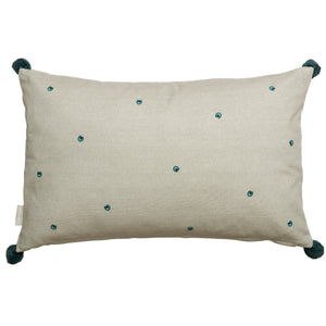 Sophie Allport Embroidered Cushion - Peacocks