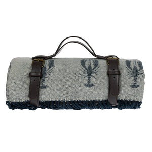 Sophie Allport Lobster Knitted Picnic Blanket